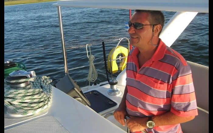 Skipper and chief whip : Kevin Katzke